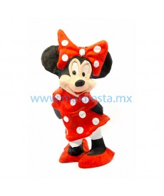 Piñata de Minnie Mouse Roja
