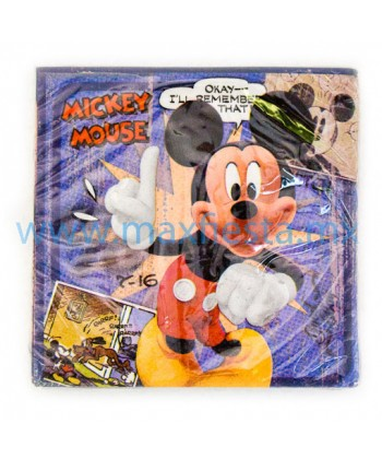Servilletas de Mickey Mouse